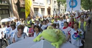 pedagógusok tüntetése (pedagógus szakszervezeti tüntetés)