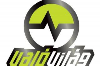 való világ logó (valóvilág logo)
