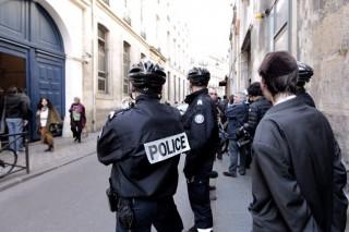 Francia rendőrök (franciaország, rendőrök, )