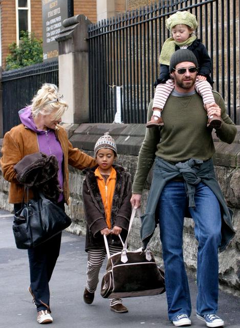 Hugh Jackman és családja (hugh jackman, )
