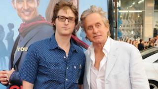 Michael & Cameron Douglas (michael douglas, cameron douglas, )