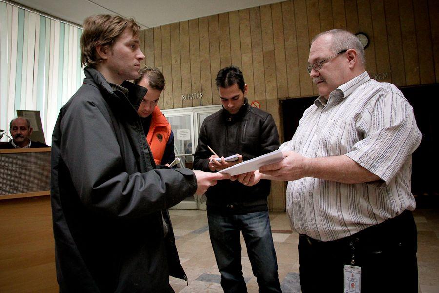 Petíció átadása a Csongrád Megyei Kormányhivatalban (Petíció átadása a Csongrád Megyei Kormányhivatalban)