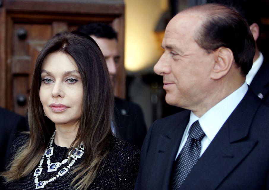 Silvio Berlusconi és Veronica Lario (silvio berlusconi, veronica lario, )