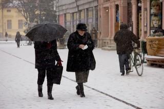 Szegedi hóesés (szeged, hó)