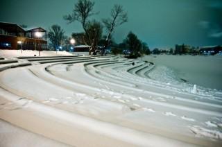 Tél (tél, hó, budapest)