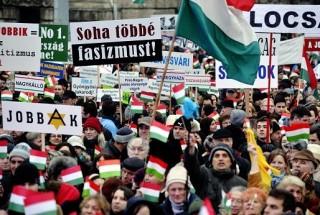 Tüntetés a Kossuth téren (tüntetés, kossuth tér, )