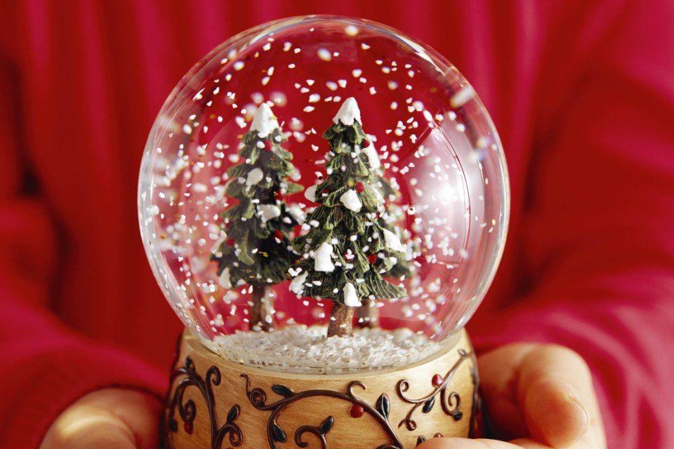 hógömb (karácsony, )