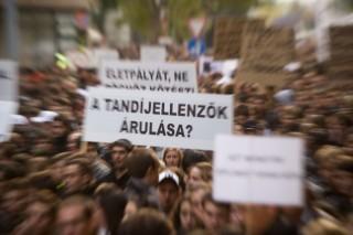 höok-tüntetés 2011 (hallgatói tüntetés 2011 szeptember)