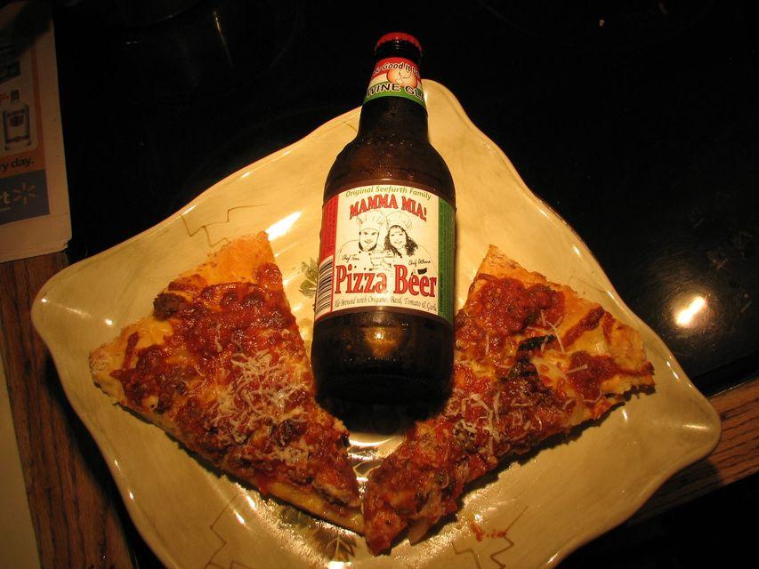 pizzás sör (sör, pizza, )