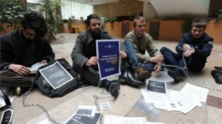 szegedi egyetemisták tüntetése (egyetemisták demonstrációja)
