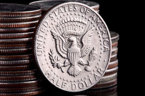 Féldolláros érme (dollár, érme, )