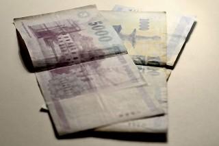 forint (pénz, húszezres, forint,)