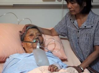 Idős beteg (idős, beteg, kórház, )