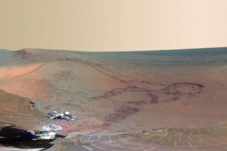 Mars-Opportunity  (Mars, panorámakép, Opportunity )