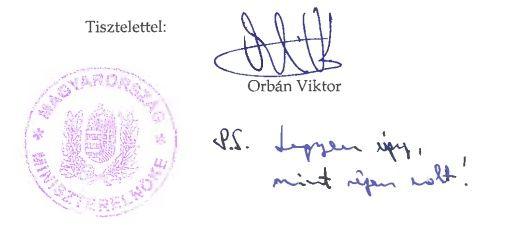 Orbán aláírása (Orbán aláírása)