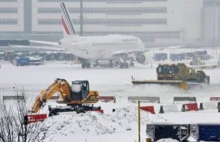 havazás Párizsban (havazás, párizs, repülőtér, )