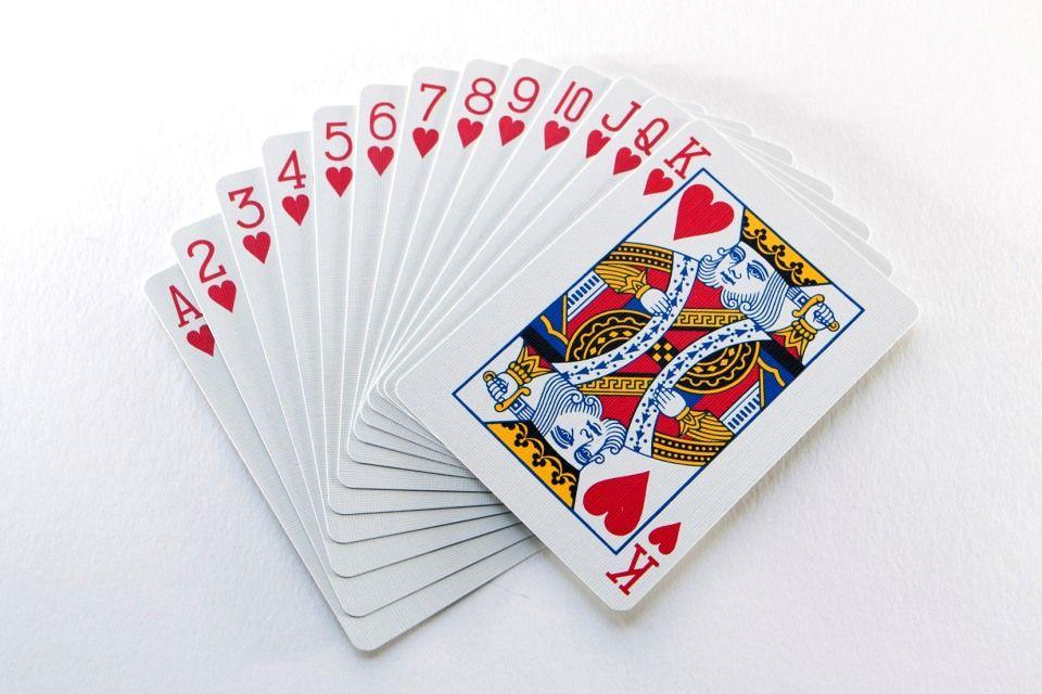 kártya póker (Array)
