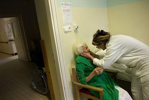 kórházi ápoló (kórház, beteg, ápoló, )
