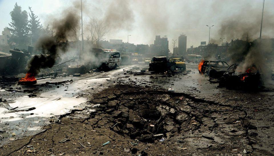 Damaszkusz merénylet (damaszkusz, merénylet, robbantás, )