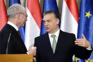 Herman Van Rompuy, Orbán Viktor (Herman Van Rompuy, Orbán Viktor)