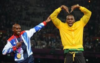 Mo Farah, Usain Bolt (mo farah, usain bolt, )