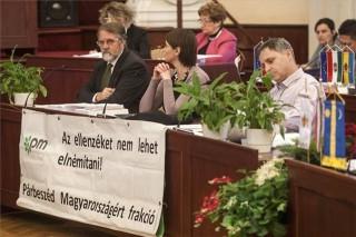 Párbeszéd Magyarországért fővárosi közgyűlés (Kaltenbach Jenő, Somfai Ágnes, Hanzély Ákos )