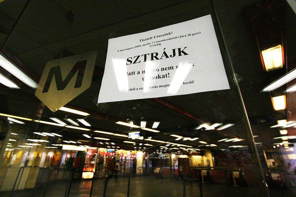 bkv sztrájk (bkv, sztrájk, metró, TNOR)