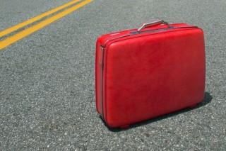 bőrönd (bőrönd, pakolás, )