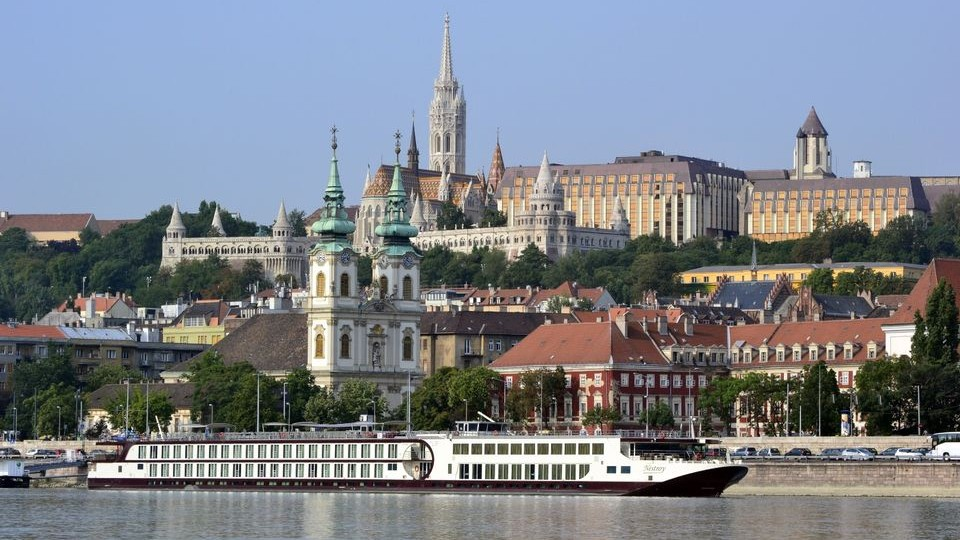 budapest panoráma (budapest, panoráma, illusztráció, turizmus)