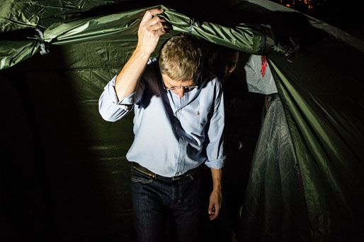 gyurcsány ferenc éhségsztrájk előtt (gyurcsány ferenc, sátor, )