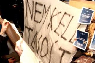 hallgatói tiltakozás (hallgatói tüntetés, )