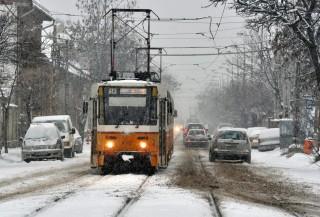 havazás Budapesten (havazás, budapest, villamos)