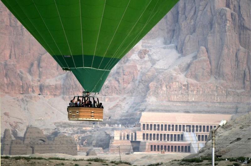 hőlégballon (hőlégballon, Luxor)