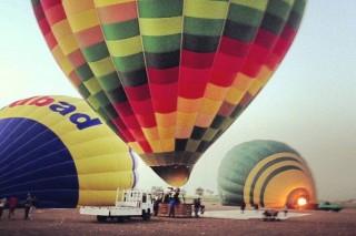 hőlégballon, egyiptom,  (hőlégballon-baleset előtt, egyiptom, )