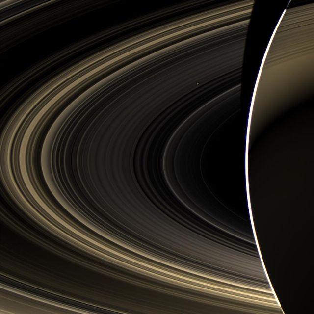 A Szaturnusz gyűrűi és a Vénusz (szaturnusz, vénusz, )