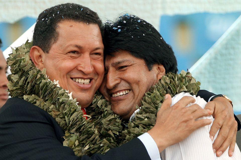 Chavez Evo Morales (Chavez, Evo Morales)