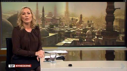 Dán tévé (assassin's creed, dánia, televíziós, hírműsor, )