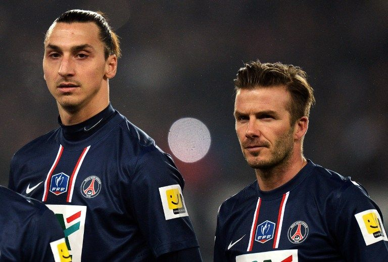 David Beckham, Zlatan Ibrahimovic (david beckham, zlatan ibrahimovic, )