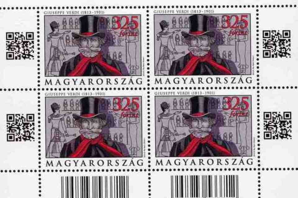 Giuseppe Verdi bélyeg (Giuseppe Verdi bélyeg)
