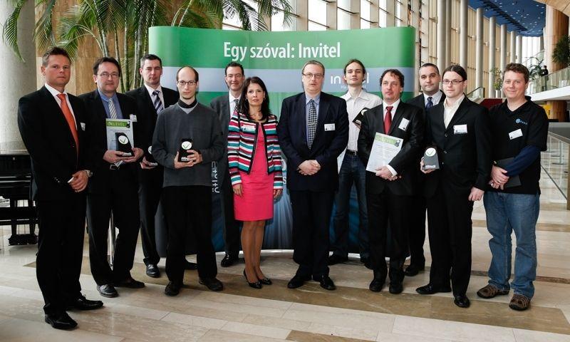Invitel InnoMax Díj 2013 (invitel, innomax, innoapps, innováció, díj, )