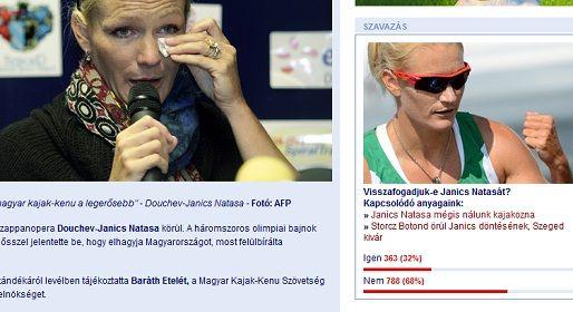 Janics szavazás (janics natada, douchev-janics natasa, douchev janics natasa, )