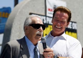 Joe Weider és Arnold Schwarzenegger (joe weider, arnold schwarzenegger, )