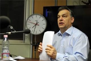 Orbán (orbán viktor a rádióban, )