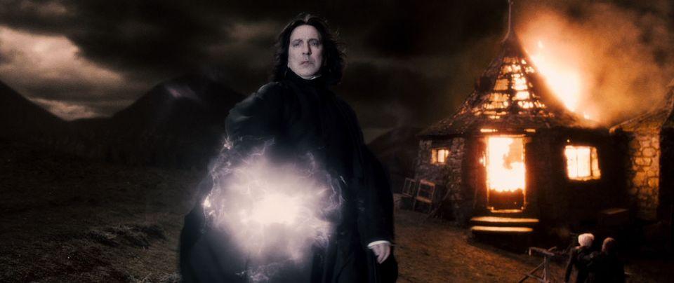 Varázsló (alan rickman, snape, harry potter, varázsló, boszorkánymester, )