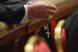 Vatikán bíboros (vatikán, kereszt, bíboros, pápaválasztás, )