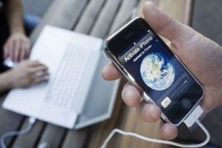 iPhone (iphone, okostelefon, mobil,)