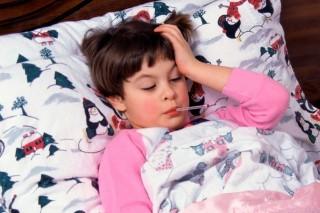 influenza láz (beteg gyerek, )