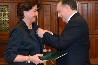 Degenfeld-Lindner Mária és orbán viktor (Degenfeld-Lindner Mária, orbán viktor, kitüntetés, )
