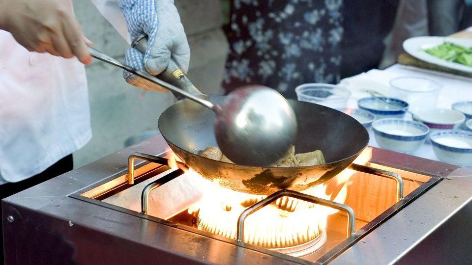 Kínai szakács (kína, szakács, főzés, )