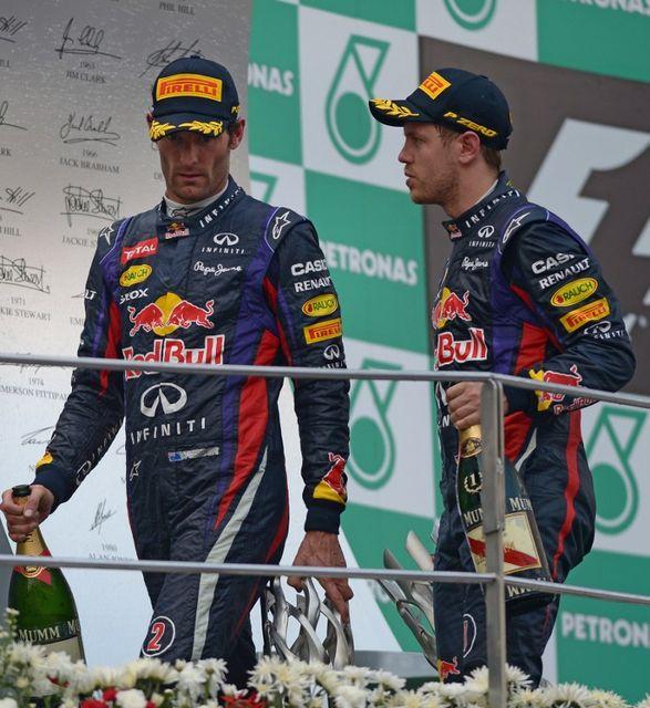 Mark Webber, Sebastian Vettel (mark webber, sebastian vettel, )